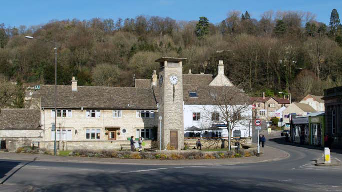 Nailsworth town centre