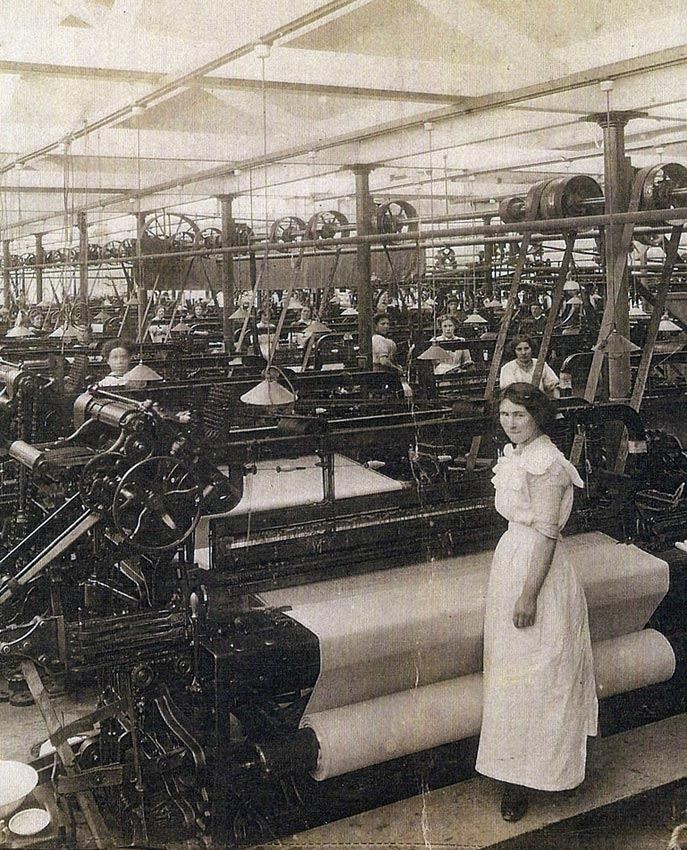 Weaving Shed in 1912